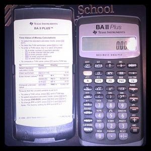 Texas Instruments BA II Plus Business Analyst